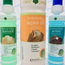 HARO Pflegeset clean & green natural, active und aqua oil natur - clean and green Set by Geizhaus24